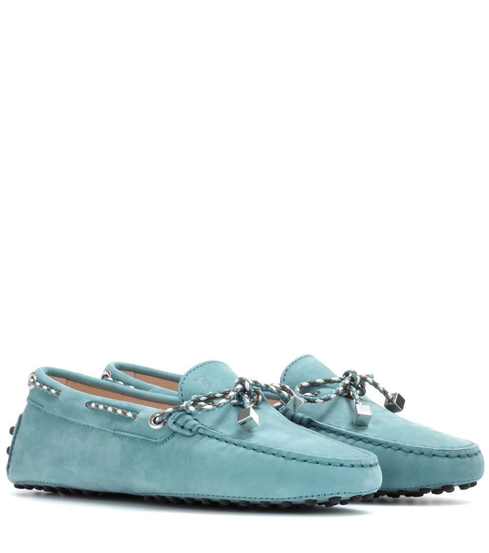 TOD'S Gommino Heaven Laced Driving Shoes at mytheresa.com