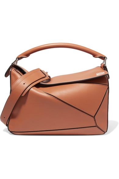 LOEWE Puzzle Medium Leather Shoulder Bag at NET-A-PORTER