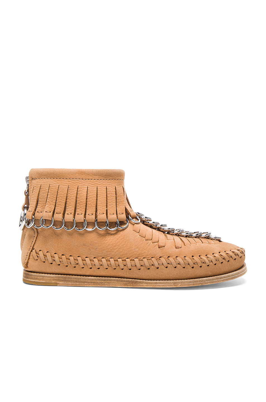ALEXANDER WANG Montana Nubuck Moccasin Boots at FORWARD