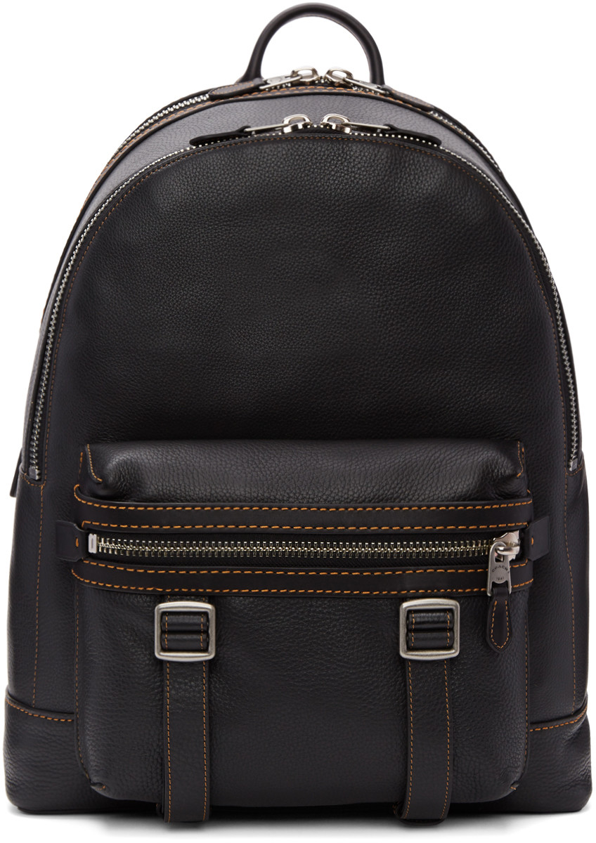 COACH 1941 Flag Backpack In Pebble Leather