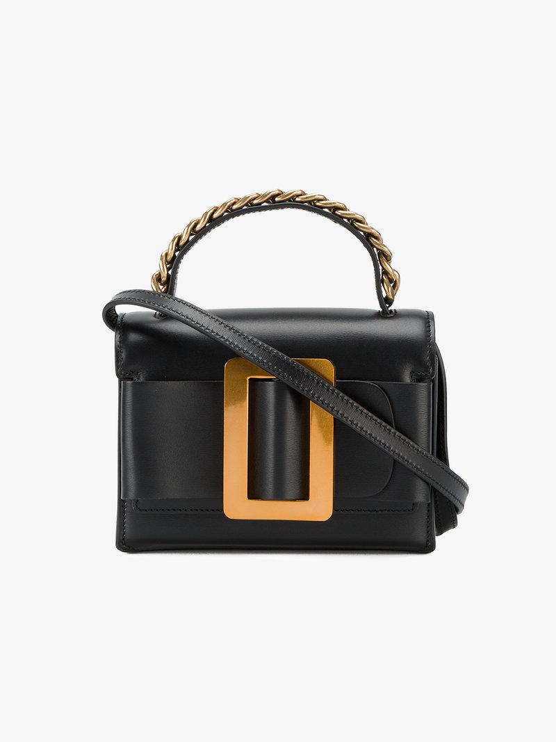 BOYY Fred Buckle-Embellished Leather Shoulder Bag