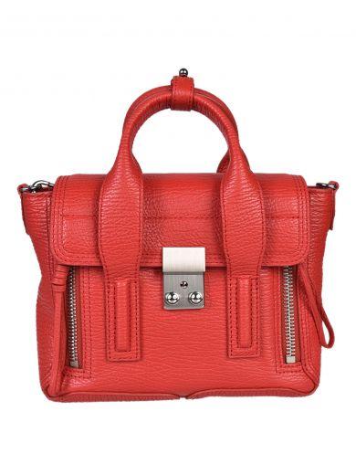 3.1 PHILLIP LIM Red Mini Pashli Satchel at Italist.com