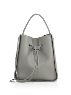 3.1 PHILLIP LIM Soleil Mini Leather Drawstring Bucket Bag at Saks Fifth Avenue