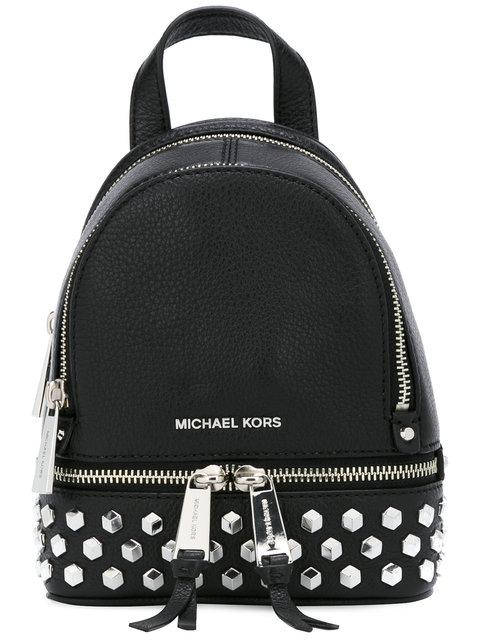 MICHAEL MICHAEL KORS Extra Small Rhea Studded Backpack