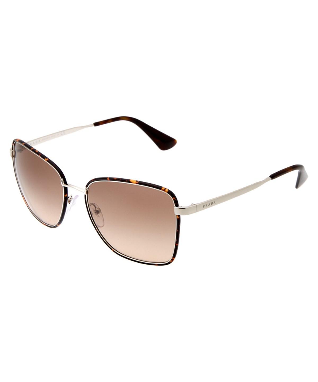 PRADA Women'S 0Pr 52Ss 58Mm Sunglasses' in Havana