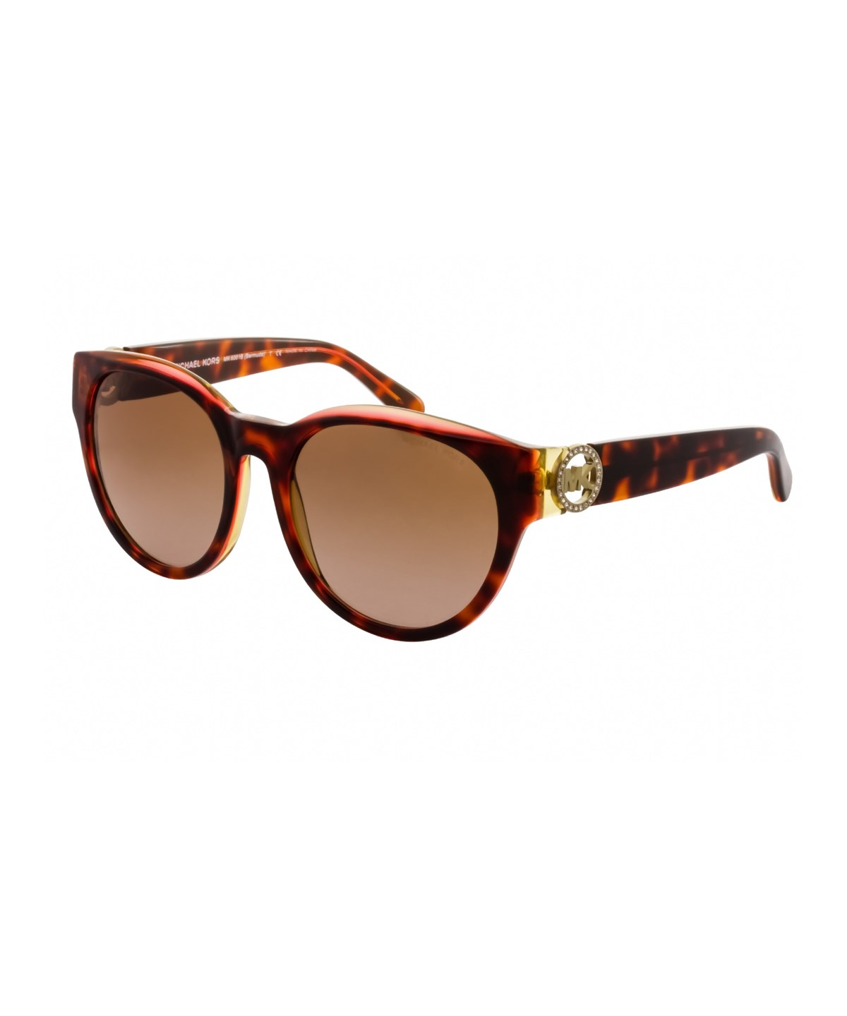 MICHAEL KORS Mk6001B - Bermuda 300413' in Havana/Brown Gradient