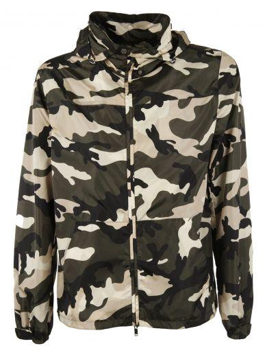 VALENTINO Camouflage Jacket at Italist.com