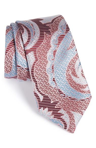 ERMENEGILDO ZEGNA Paisley Silk Tie at Nordstrom