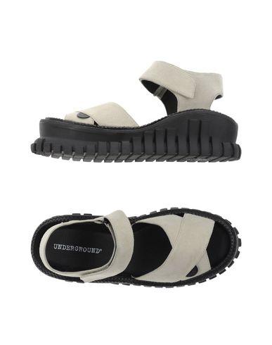 UNDERGROUND Sandals in ライトグレー