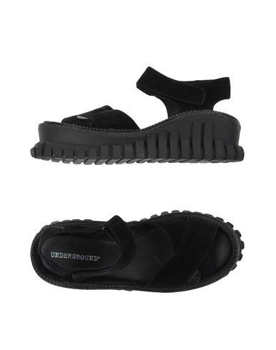 UNDERGROUND Sandals in Black