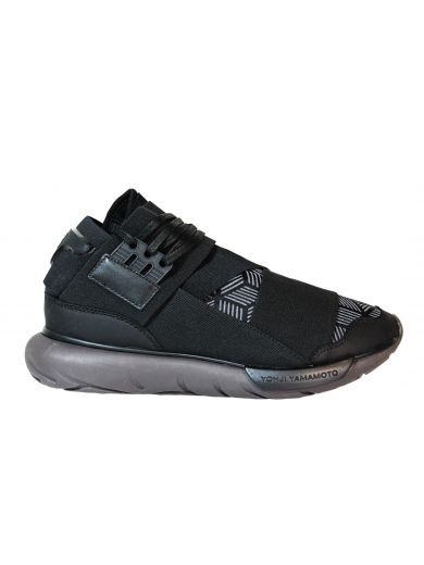 "Y-3 Black ""Qasa High"" Sneakers"