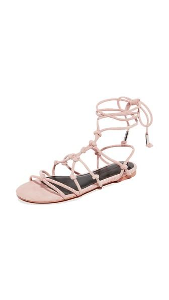 REBECCA MINKOFF Elyssa Sandals in Nude