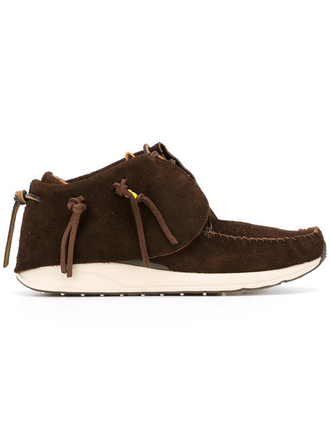 VISVIM Knot Detail Boots at Farfetch