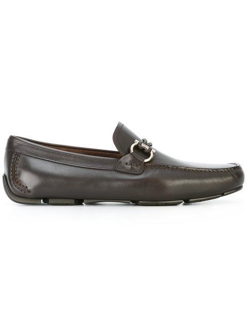 SALVATORE FERRAGAMO Rubber Sole Loafers