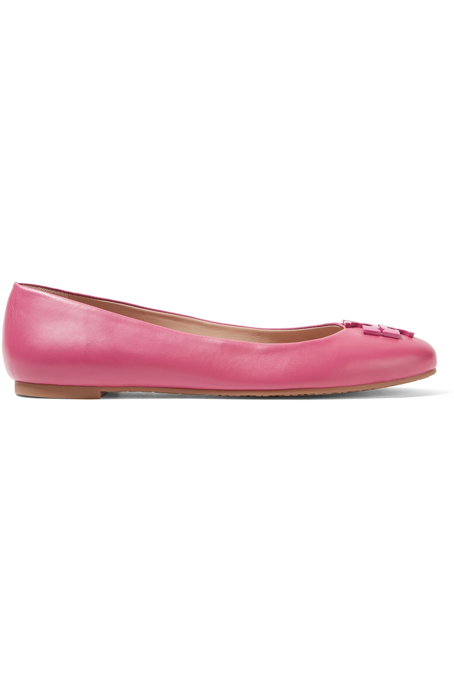 TORY BURCH Lowell Leather Ballet Flats