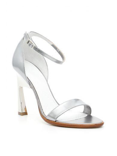 MAISON MARTIN MARGIELA Sandals in Silver|Metallico