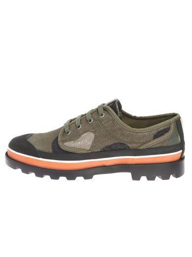 VALENTINO Camouflage Canvas Shoes