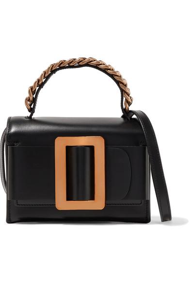 BOYY Fred Buckle-Embellished Leather Shoulder Bag at NET-A-PORTER