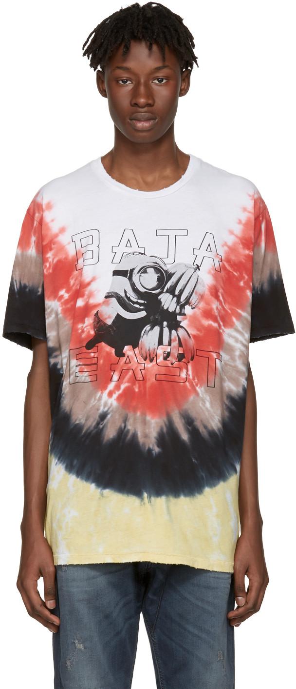 BAJA EAST Multicolor Tie-Dye Minions T-Shirt