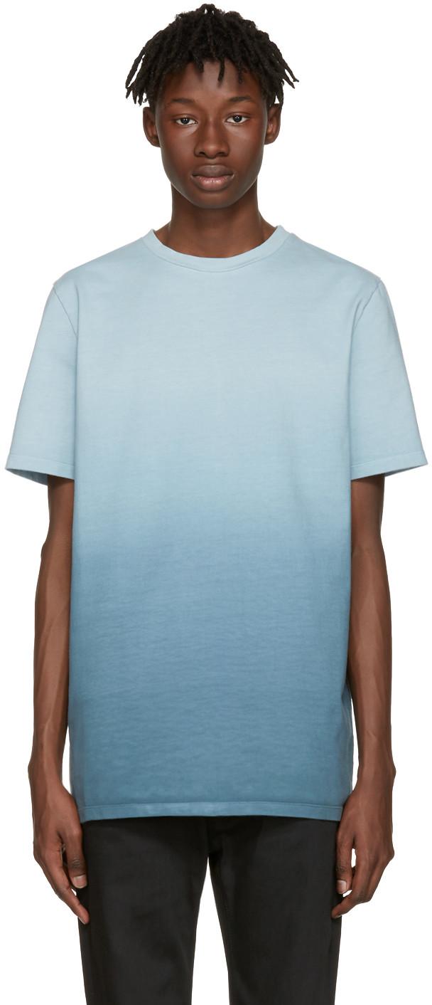 JIL SANDER Dégradé Cotton-Jersey T-Shirt at SSENSE