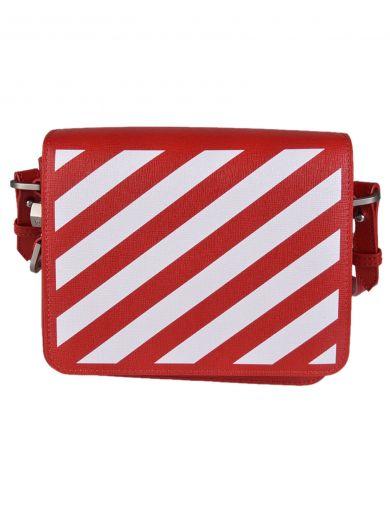 OFF-WHITE Off-White Diagonal Stripe Shoulder Bag
