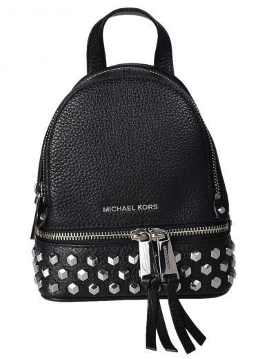 MICHAEL MICHAEL KORS Extra Small Rhea Studded Backpack at Italist.com