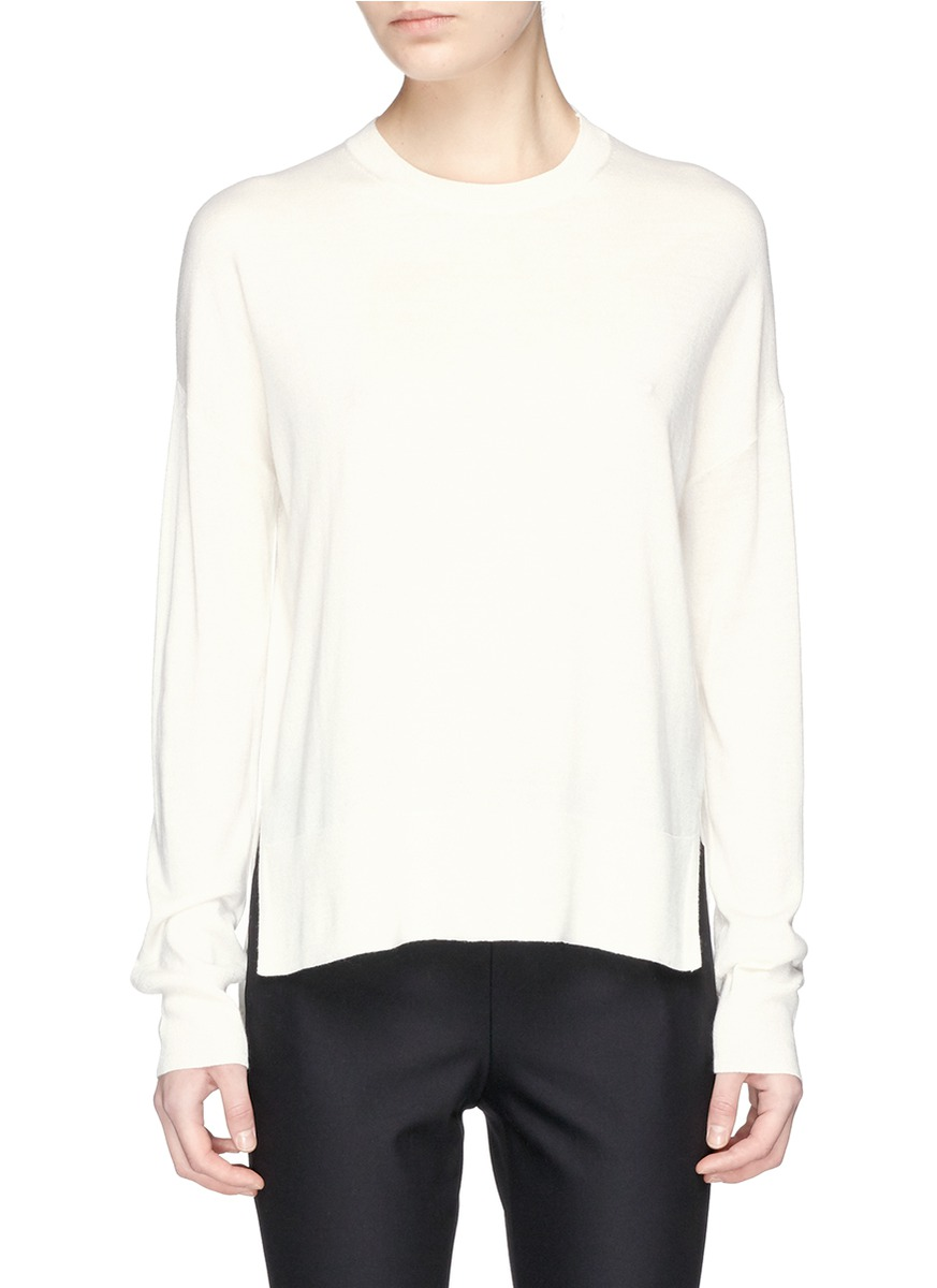 THEORY 'Karenia R' High Low Hem Sweater
