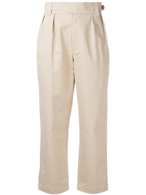 MAISON KITSUNÉ High-Waisted Trousers