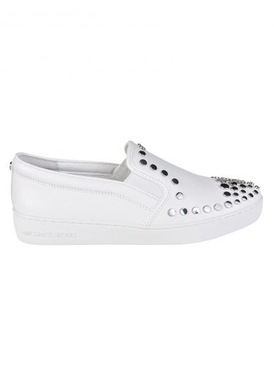 MICHAEL MICHAEL KORS Studded Slip-On Sneakers at Italist.com