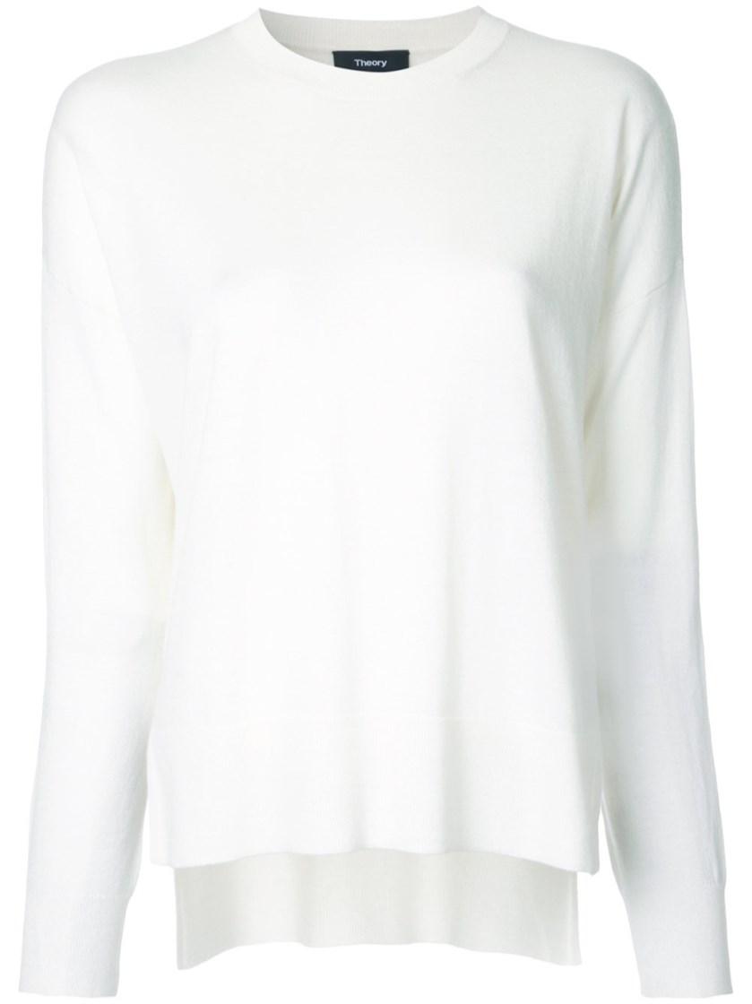 THEORY 'Karenia R' High Low Hem Sweater at Al Duca d'Aosta