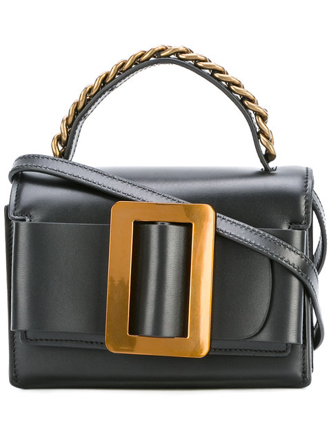 BOYY Fred Buckle-Embellished Leather Shoulder Bag at Farfetch