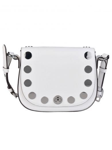 MICHAEL MICHAEL KORS Michael Kors Studded Medium Shoulder Bag