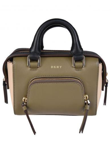 DKNY Contrast Tote Bag at Italist.com