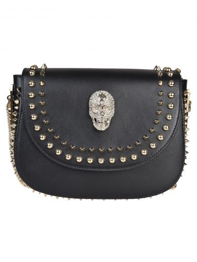 PHILIPP PLEIN Philipp Plein Ajo Mini Shoulder Bag at Italist.com