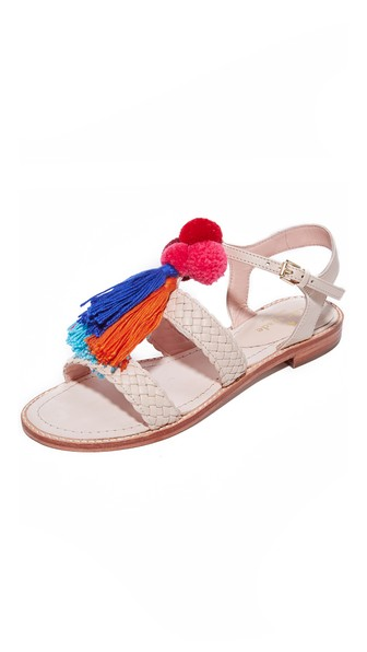 KATE SPADE Sunset Tassel Strappy Sandal at Shopbop
