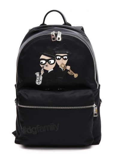DOLCE & GABBANA Dolce & Gabbana Backpack With Designers Patch