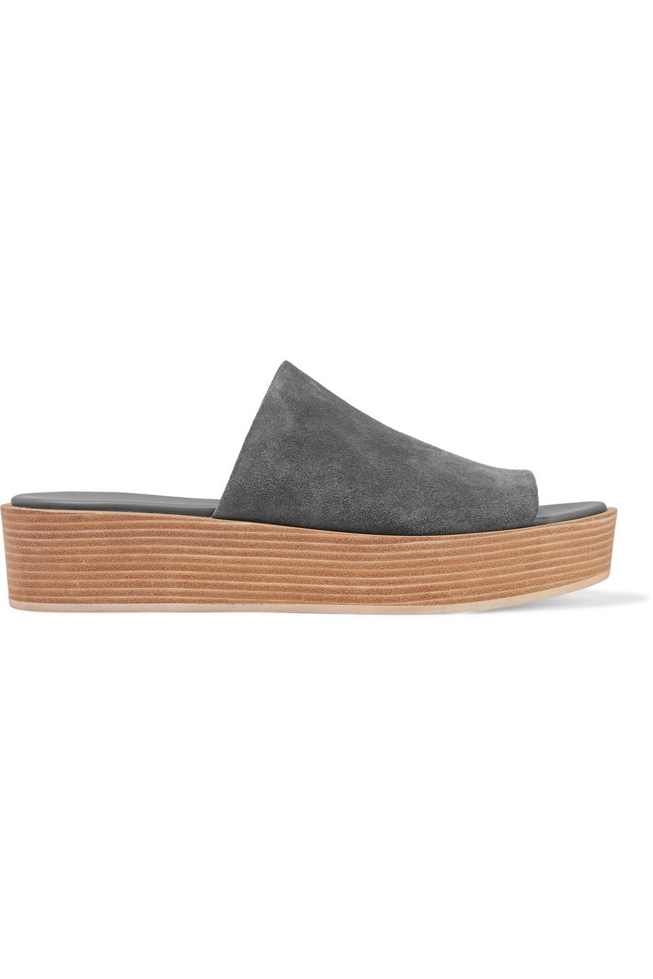 VINCE Saskia Suede Sandals at THE OUTNET.COM