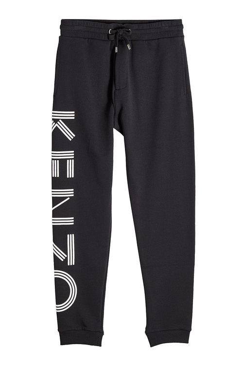 KENZO Cotton Classic Molleton Sweatpants at STYLEBOP.com