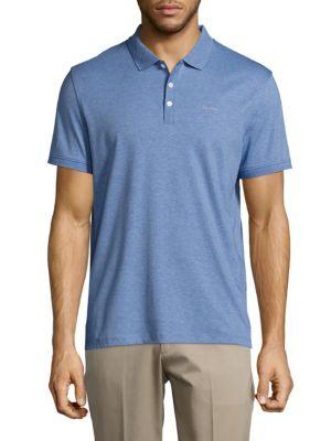 CALVIN KLEIN Liquid Cotton Polo