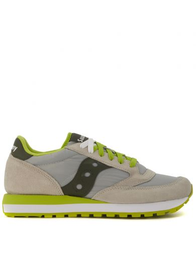 SAUCONY Sneaker Saucony Jazz In Grey Suede And Light Grey Fabric