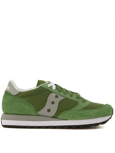 SAUCONY Sneaker Saucony Jazz In Green Suede And Nylon at Italist.com