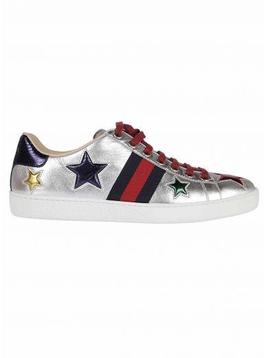 GUCCI Gucci 'Nappa Silk' Leather Sneakers