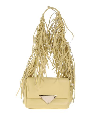 SARA BATTAGLIA Shoulder Bag in Light Yellow