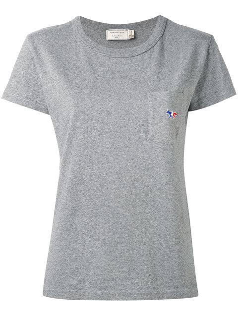 MAISON KITSUNÉ Patch Pocket T-Shirt