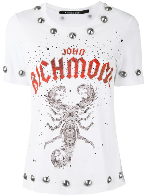 JOHN RICHMOND Studded T-Shirt
