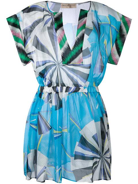 EMILIO PUCCI Graphic Print Dress