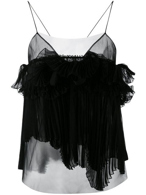 ROCHAS Pleated Cami