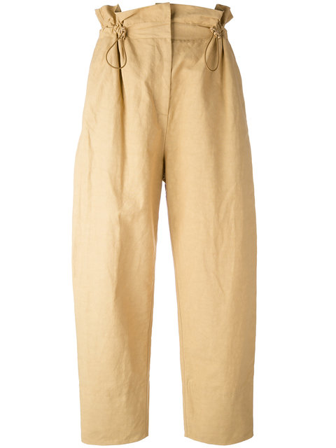 STELLA MCCARTNEY Paperbag Wide Leg Trousers