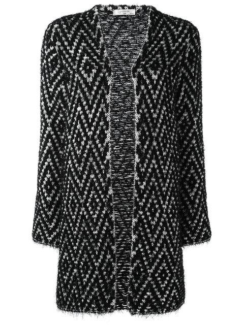 LANVIN Knitted Longline Cardigan