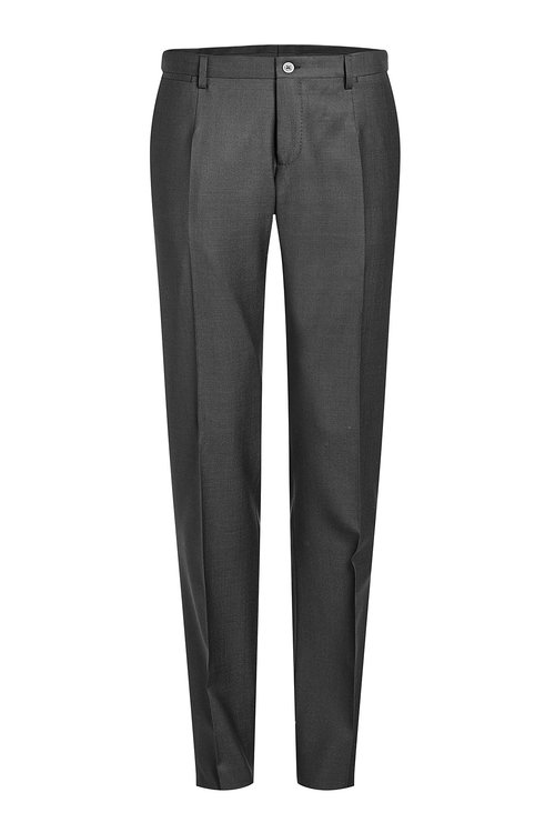 DOLCE & GABBANA Wool Pants With Silk at STYLEBOP.com